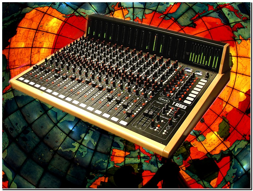 the best analog console on the planet - T Series photo gallery